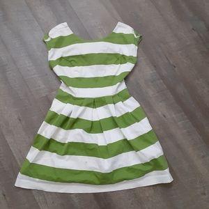 Medium Striped peplum shirt